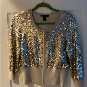 WHBM sequined top.  Fabulous
